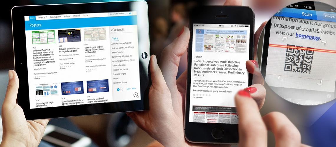 ePostersOnline example in desktop, tablet & mobile